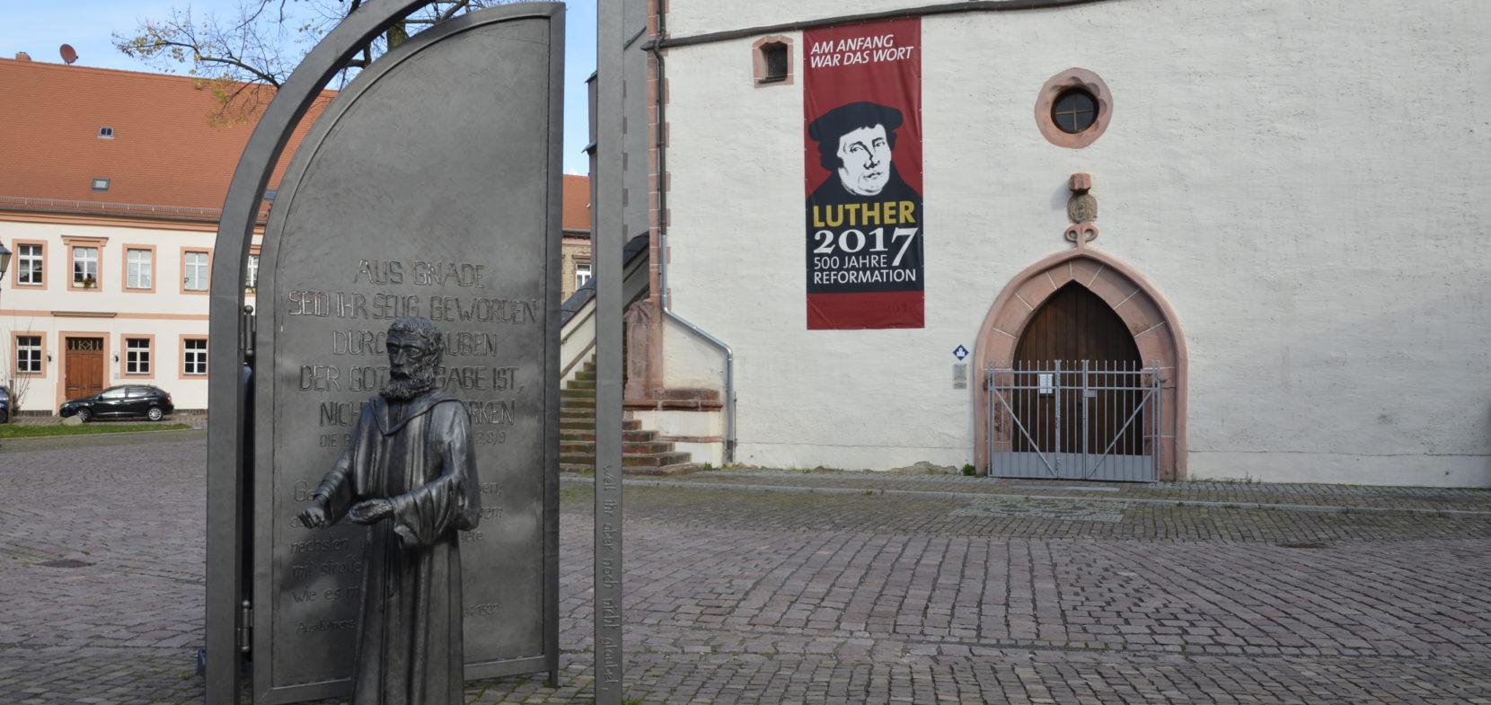 Lutherweg in Sachsen